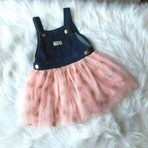 Dkny Girl's Dress Tulle Skirt Size 2T